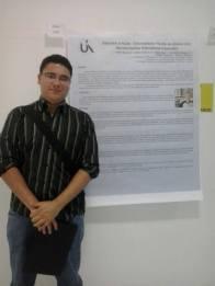 Apresentação de resumo de artigo científico sobre inclusão escolar no I Congresso Interdisciplinar da Saúde - Unifenas Varginha (2013)