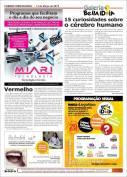 """Publicação da crônica """"Vermelho"""" no jornal Correio Trespontano (2015) - O texto pode ser melhor visualizado através do link http://goo.gl/5utiKe"""
