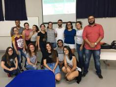 """Palestra sobre """"Masculinidade Tóxica"""" apresentada para a Liga Acadêmica de Saúde Reprodutiva e Sexual da UFLA (2019)"""